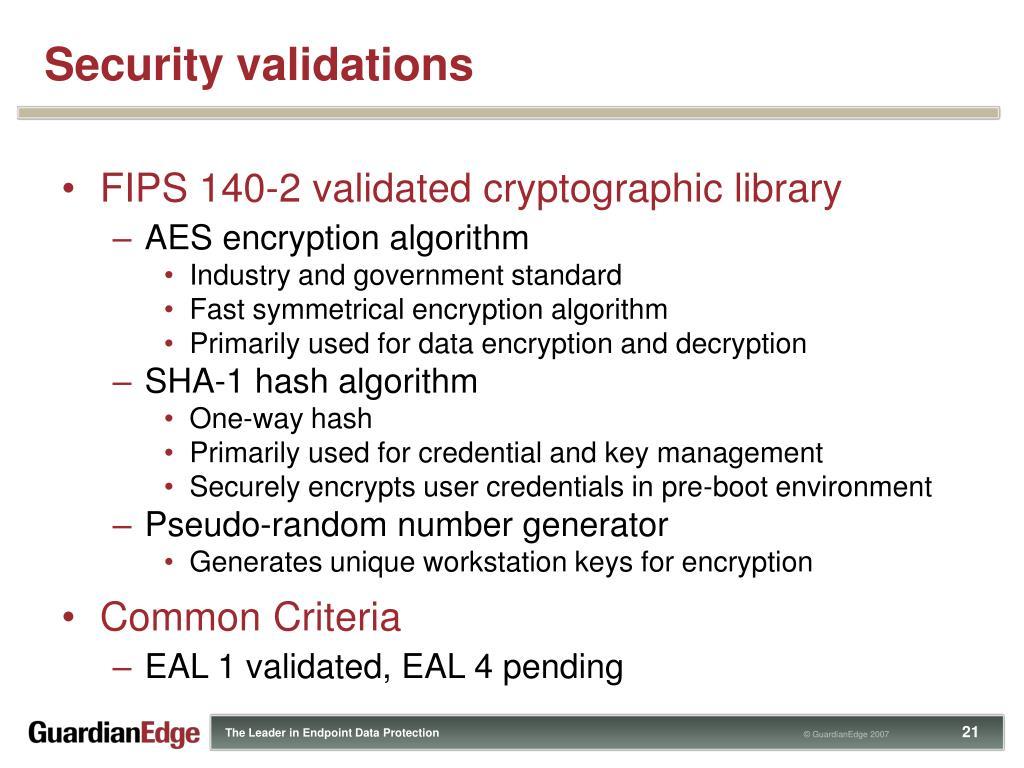 PPT - GuardianEdge Hard Disk Encryption PowerPoint