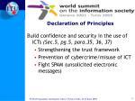 declaration of principles