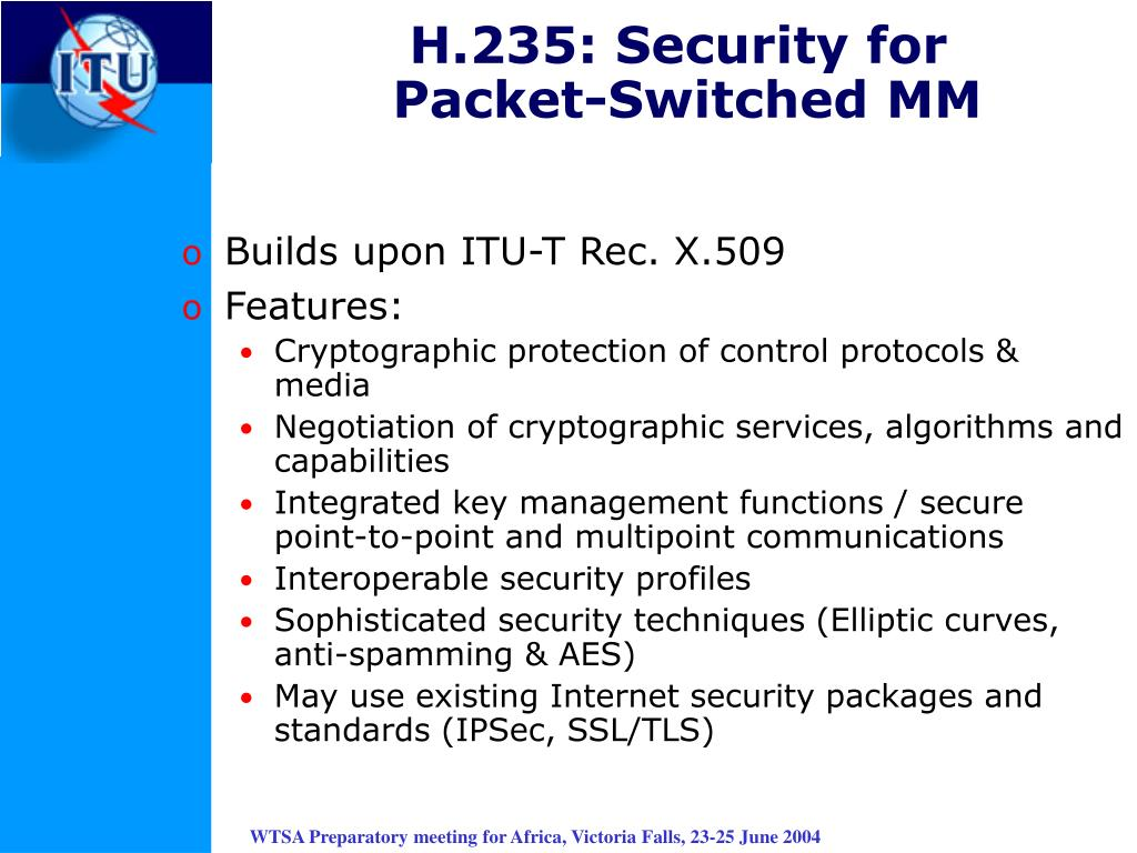 H.235: Security for