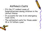 asthma s costs