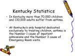 kentucky statistics
