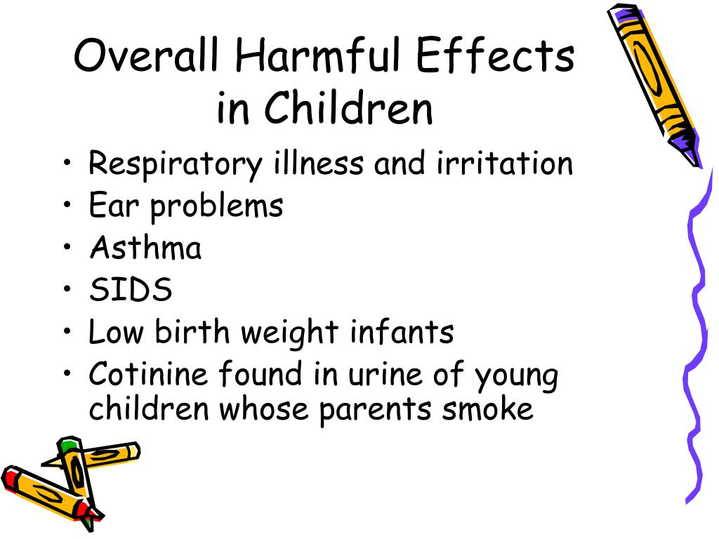 Overall Harmful Effects in Children