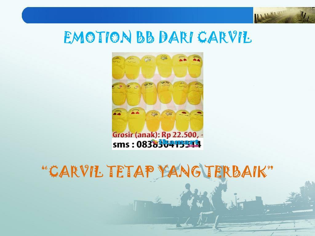 EMOTION BB DARI CARVIL