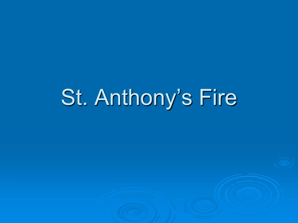 st anthony s fire l.