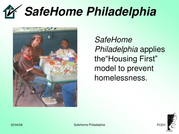 Safehome philadelphia