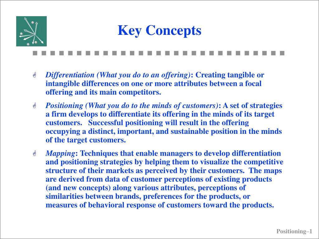 key concepts l.