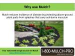 why use mulch6