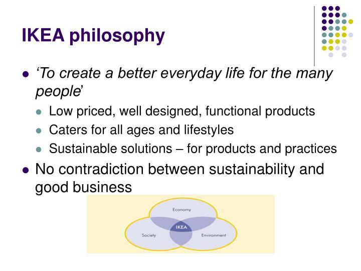 Ikea philosophy