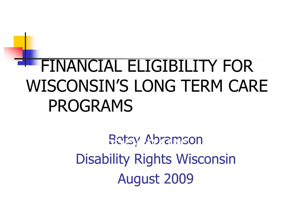 betsy abramson disability rights wisconsin august 2009 l.