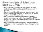 illinois analysis of subject to bart non egus1