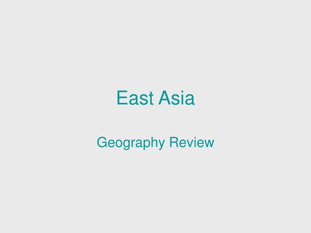 east asia l.