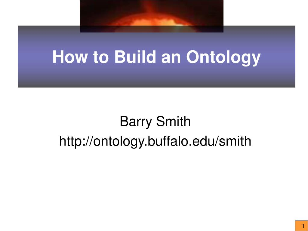 how to build an ontology l.