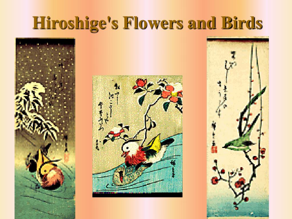 Hiroshige's Flowers and Birds