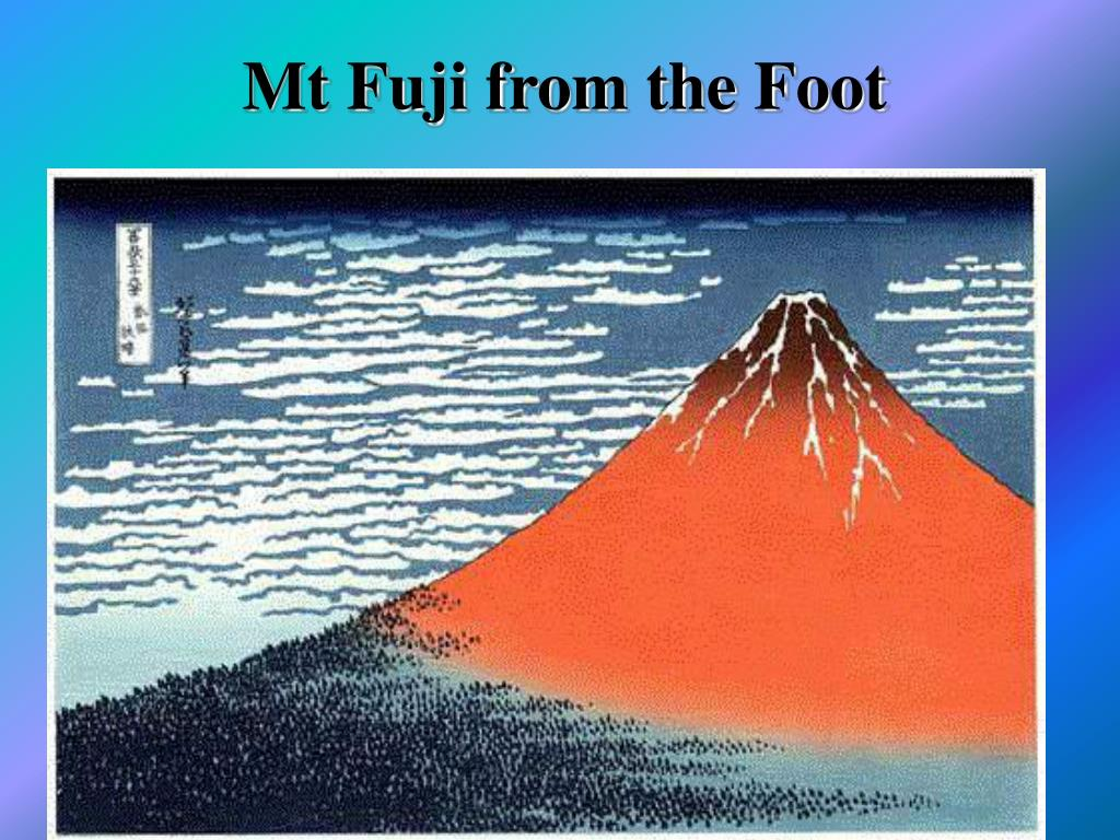 Mt Fuji from the Foot