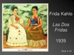 frida kahlo las dos fridas 1939
