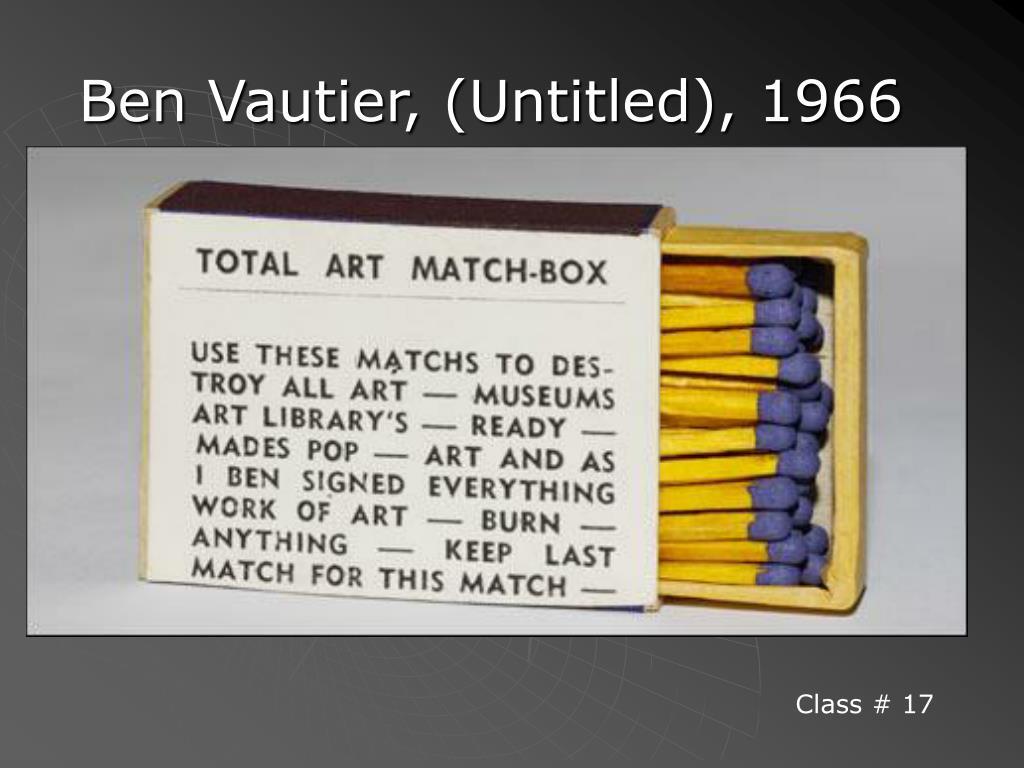 Ben Vautier, (Untitled), 1966