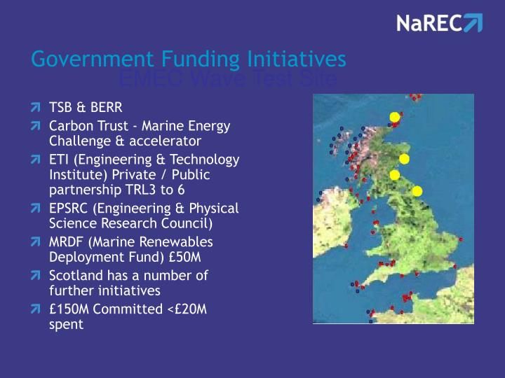 Government Funding Initiatives