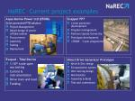 narec current project examples