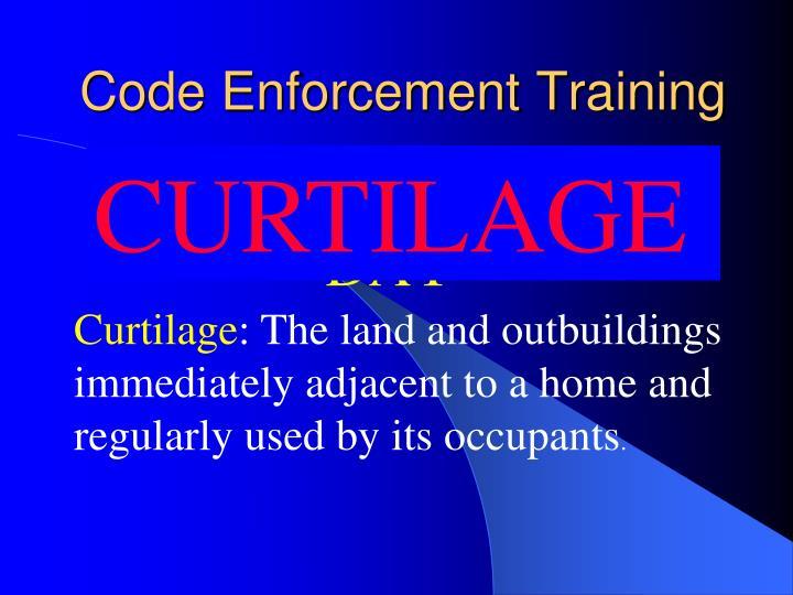 Ppt Instructional Training Guide Code Enforcement Module 11