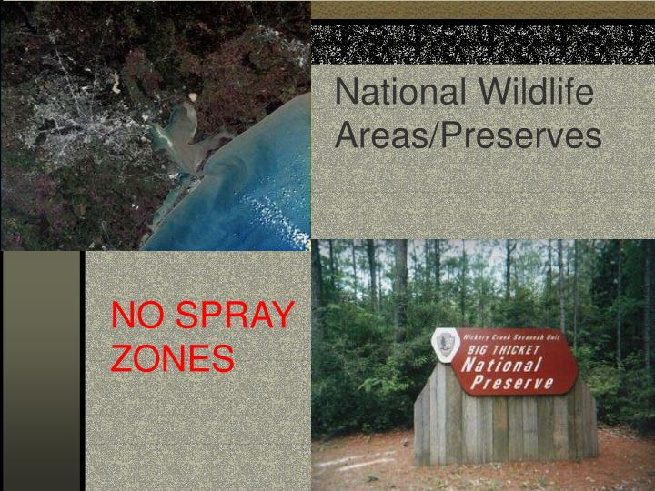 National Wildlife Areas/Preserves