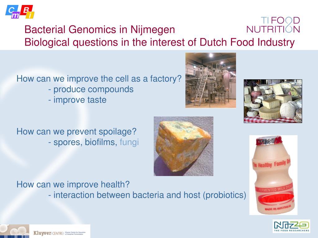 Bacterial Genomics in Nijmegen