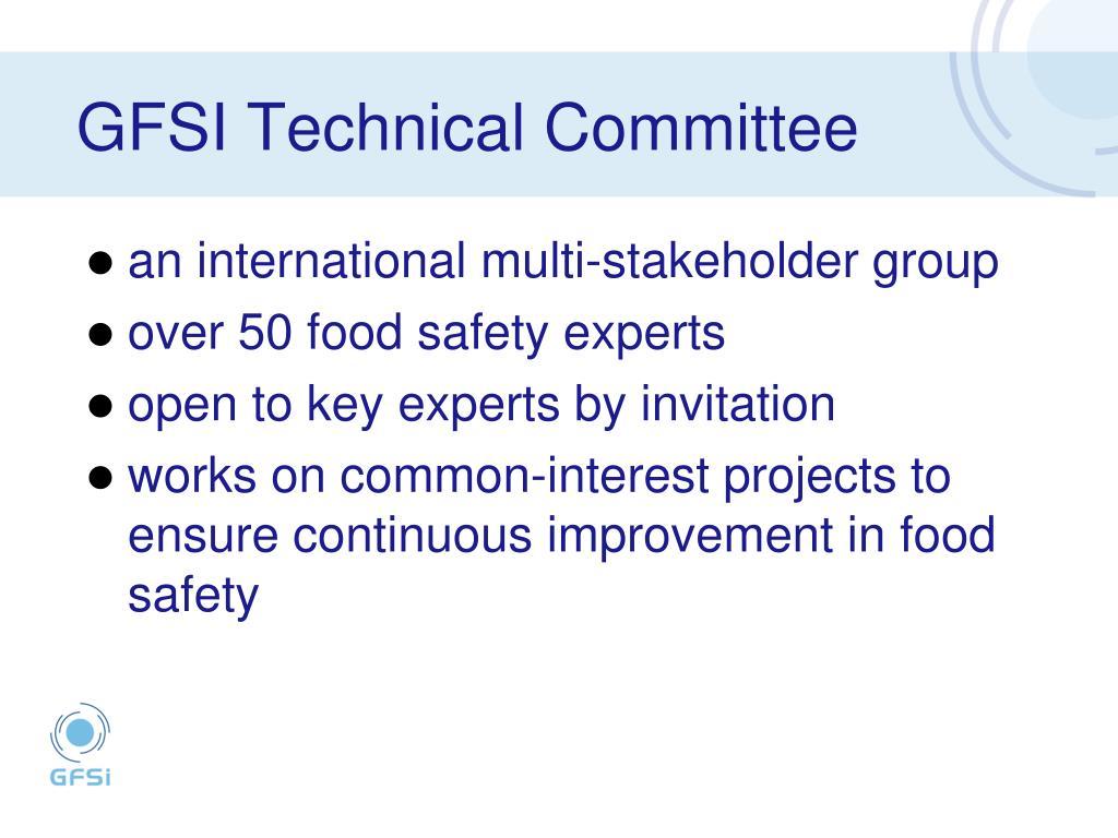 GFSI Technical Committee