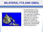 bilateral fta and gmos