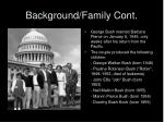 background family cont