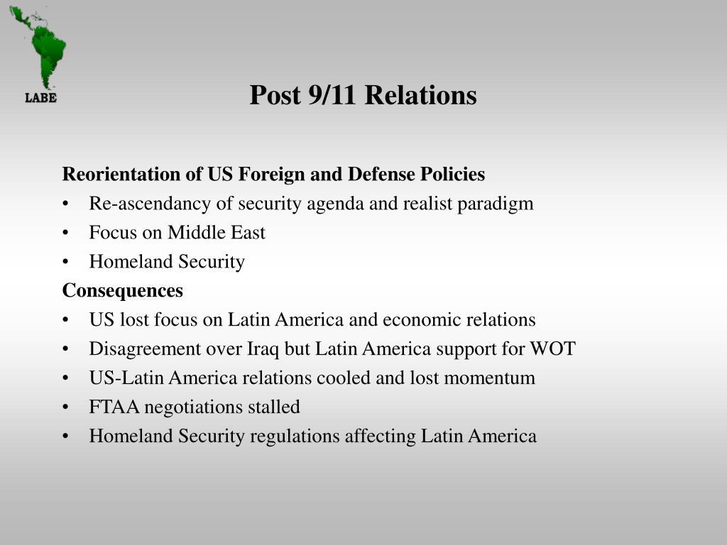 Post 9/11 Relations