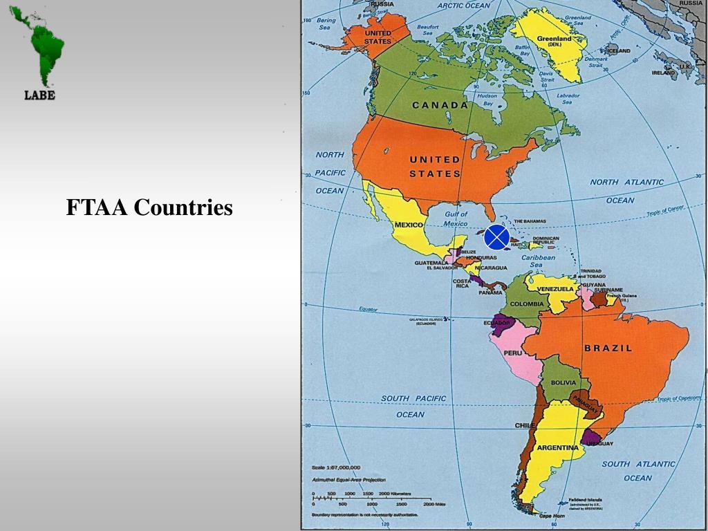 FTAA Countries