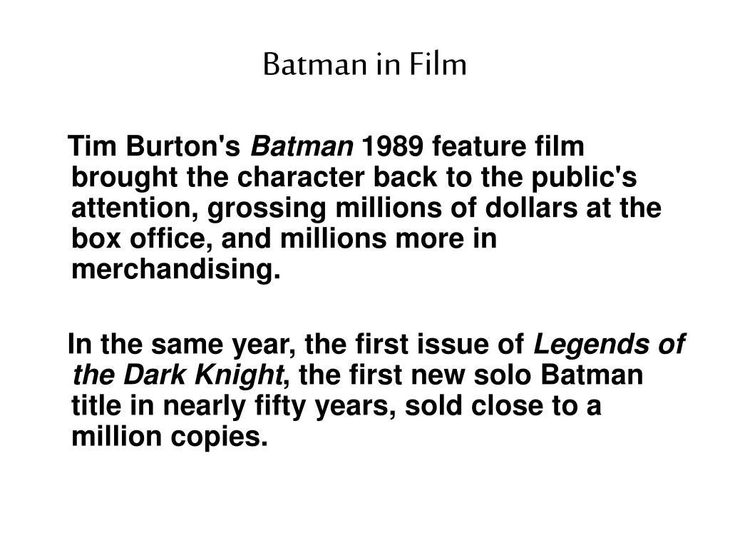 Batman in Film