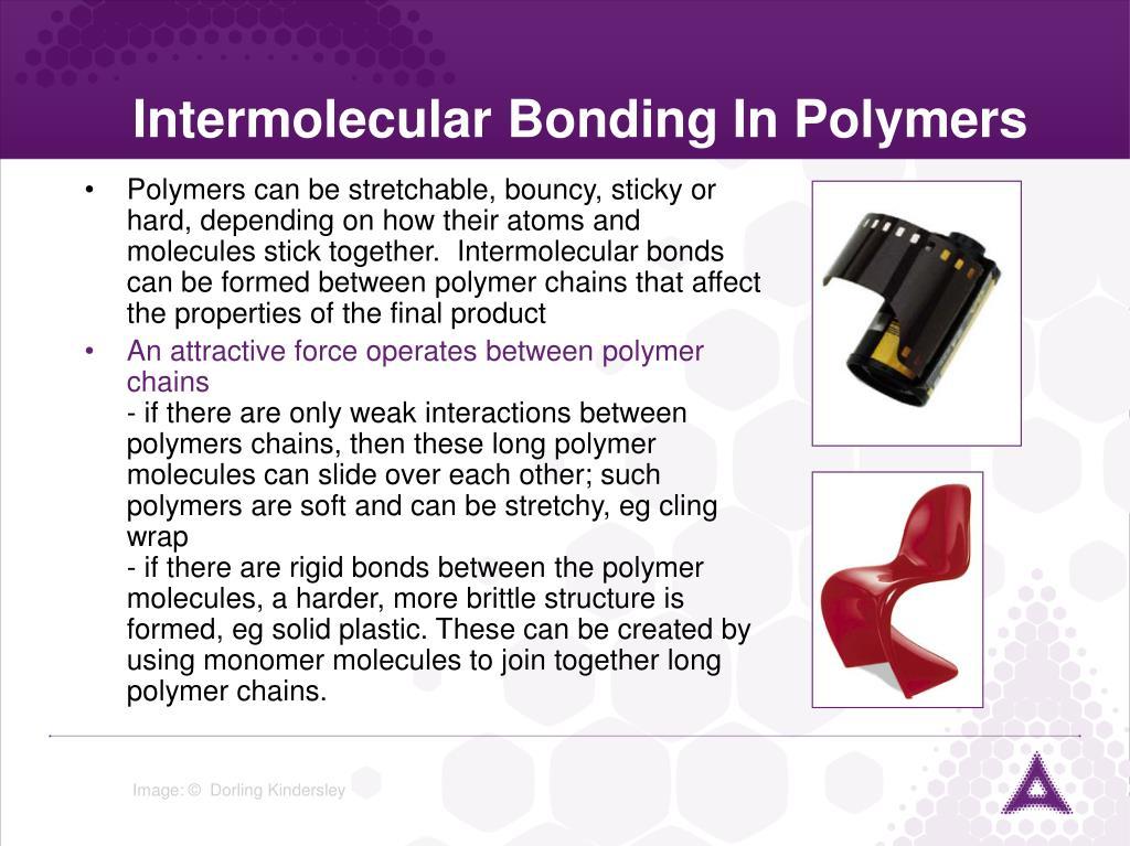 Intermolecular Bonding In Polymers