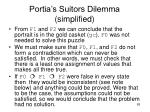 portia s suitors dilemma simplified85