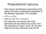 propositional calculus6