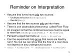 reminder on interpretation10