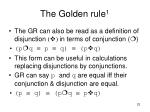 the golden rule 123