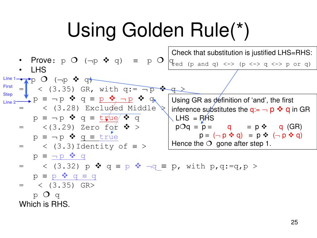 Using Golden Rule(*)