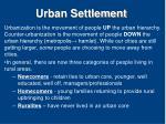urban settlement7