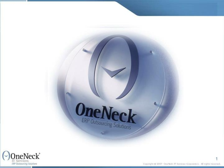 It outsourcing business continuity by design by oneneck it