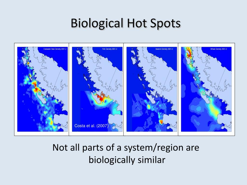Biological Hot Spots