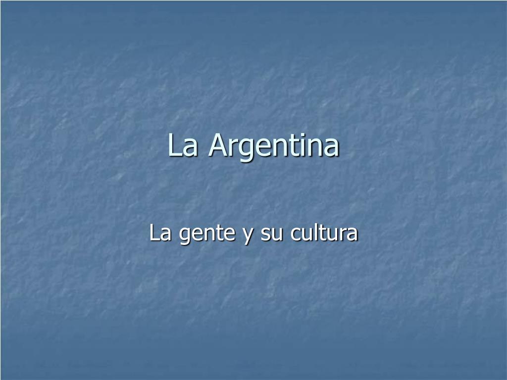 la argentina l.
