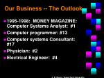 our business the outlook