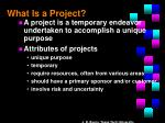what is a project1