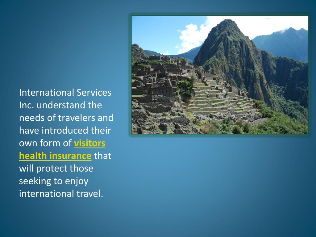 International Services Inc. understand the needs of travelers and have introduced their own form of