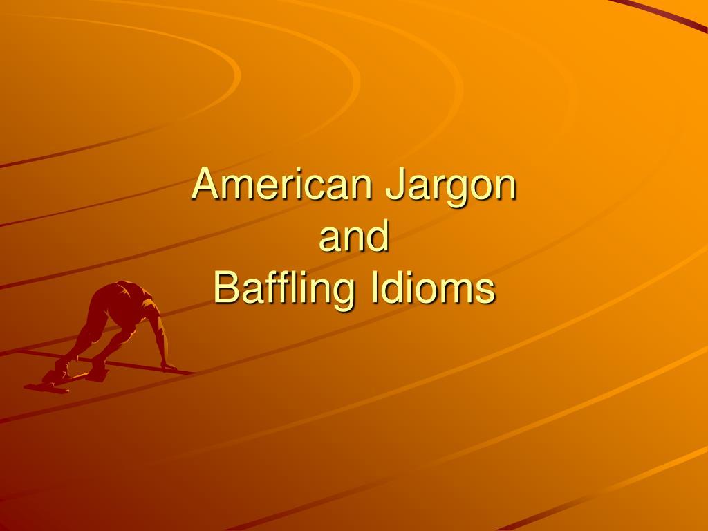 American Jargon