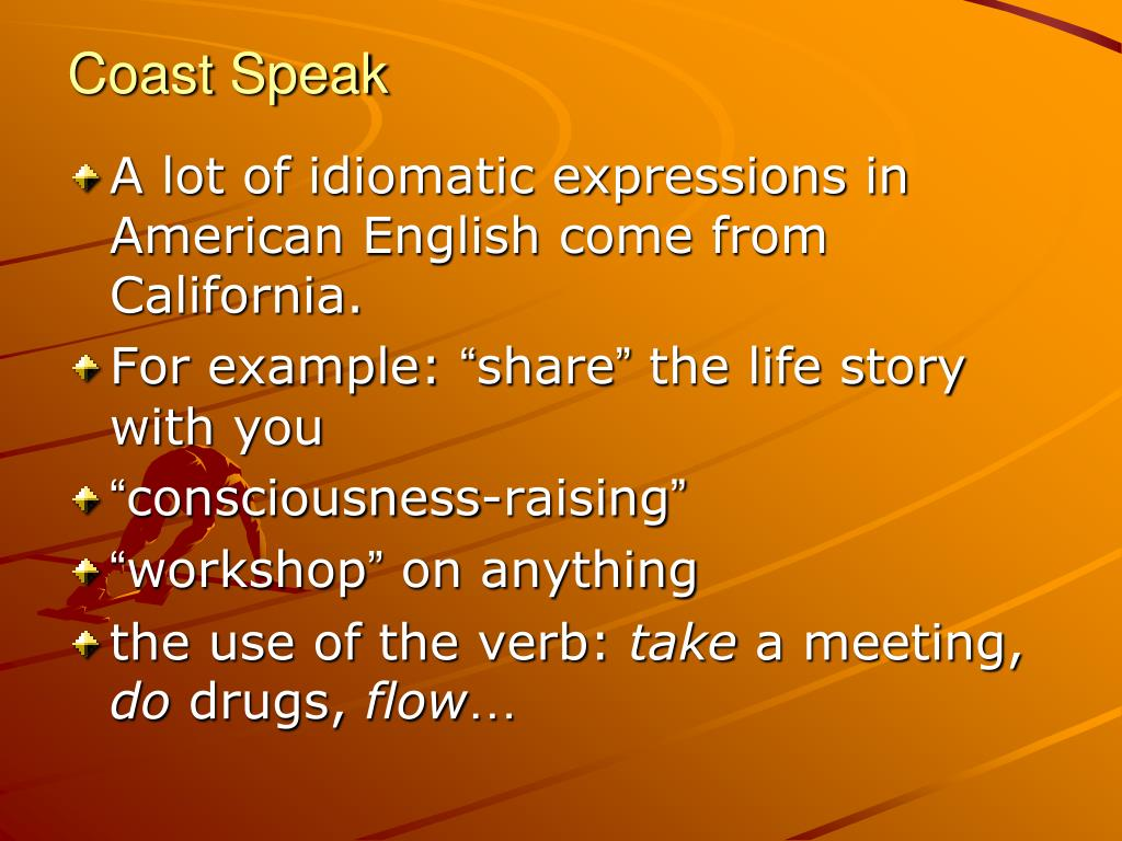 Coast Speak