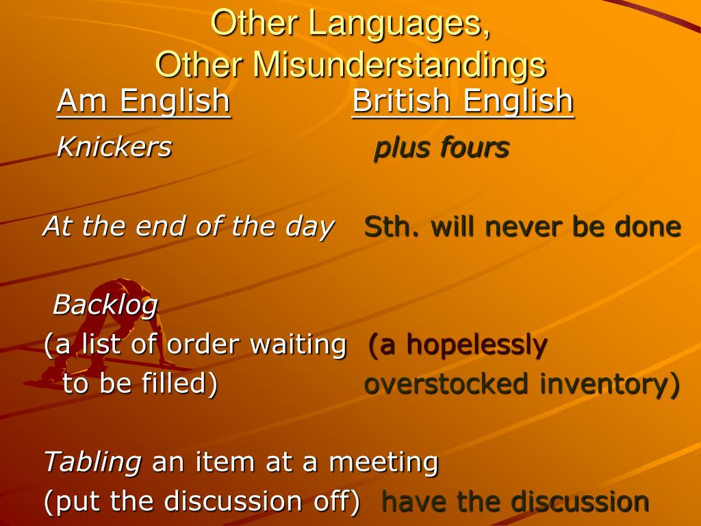 Other Languages,