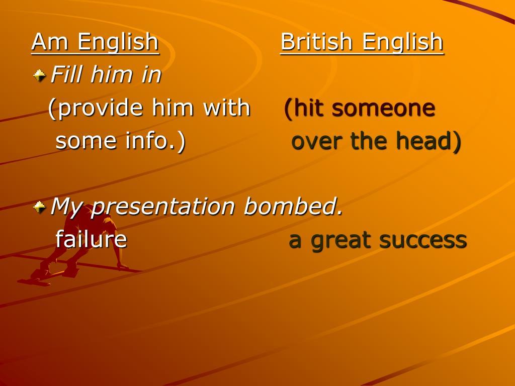 Am English