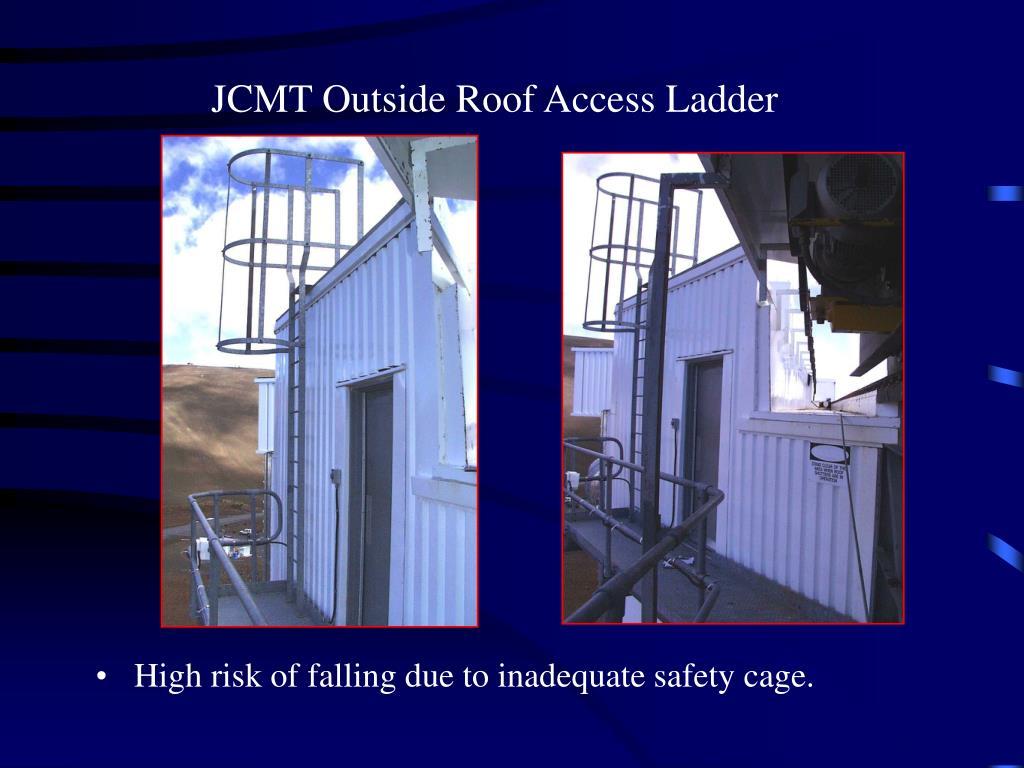 JCMT Outside Roof Access Ladder