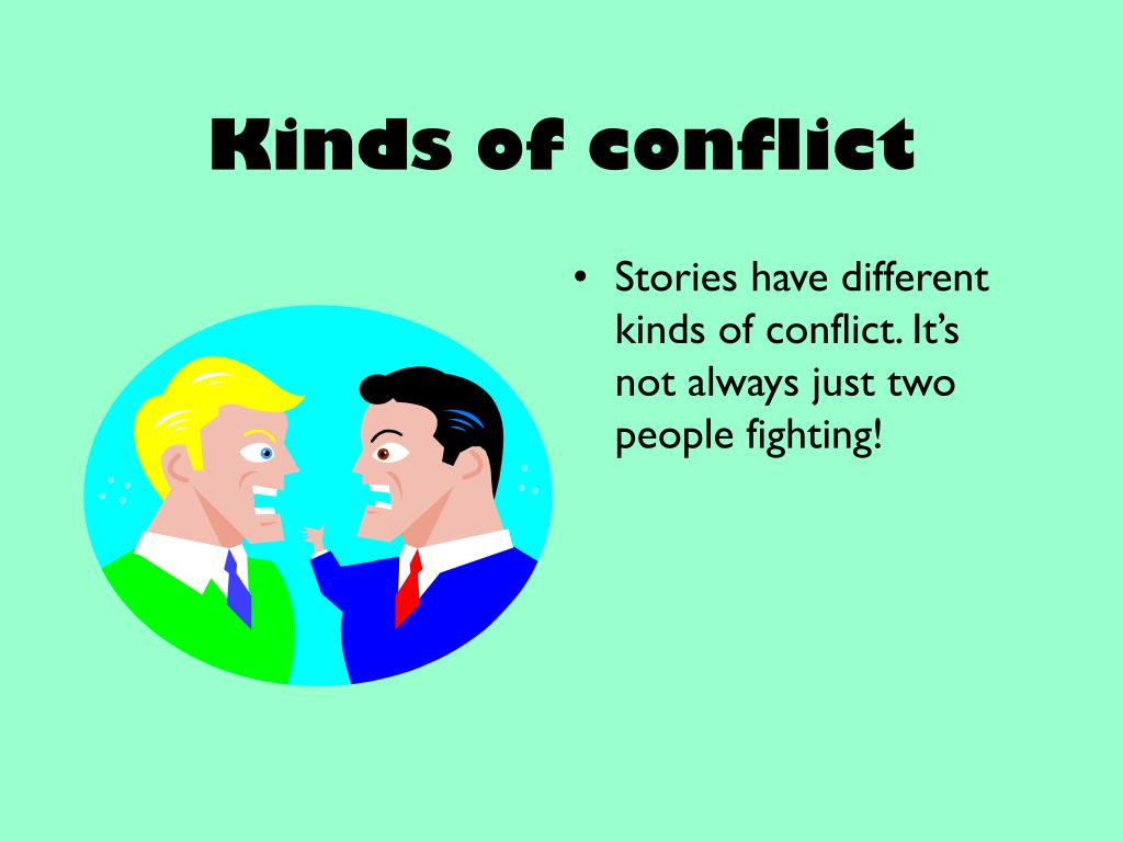 Kinds of conflict